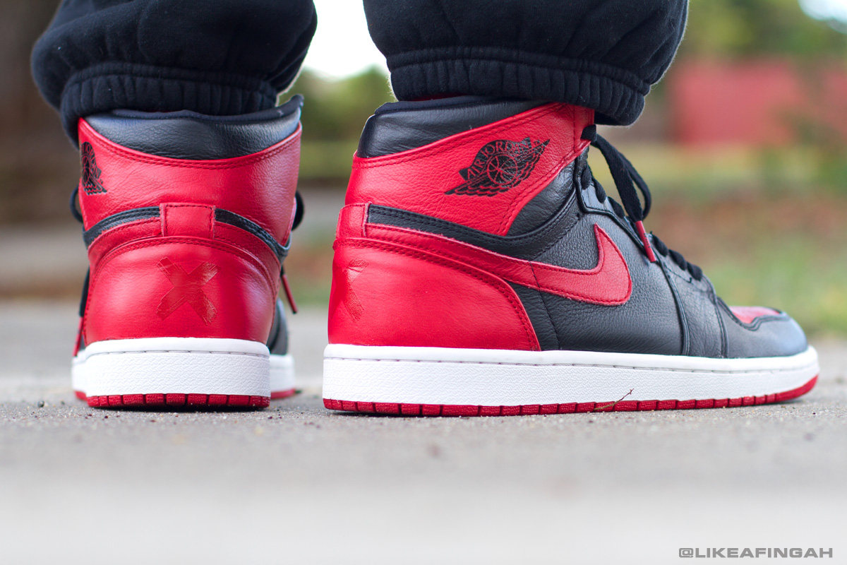 Displaying 14> Images For - Air Jordan 1 Banned 2013...